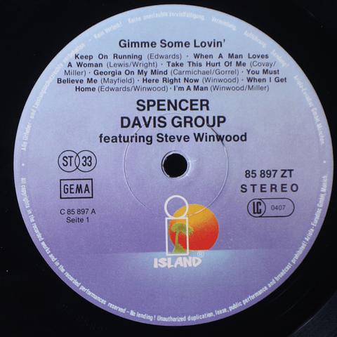 Spencer Davis Group – Gimme Some Lovin'