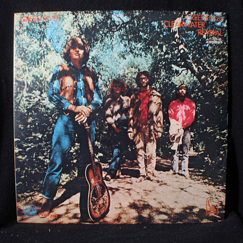 Creedence Clearwater Revival – Green River (1a Ed Japón)