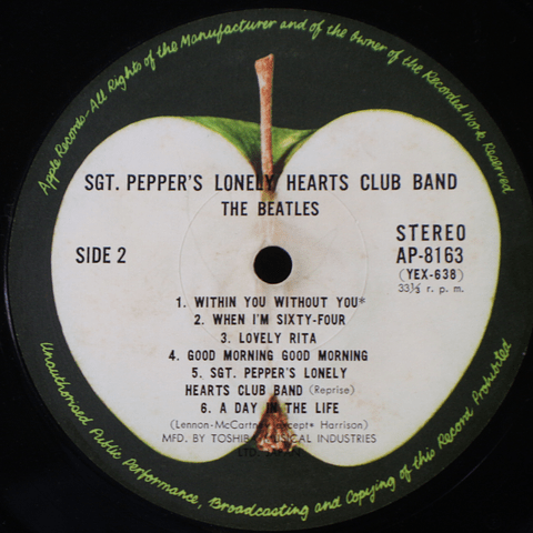 Beatles – Sgt. Pepper's Lonely Hearts Club Band (Ed Japón '69)