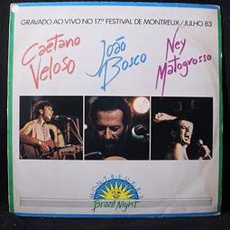 Caetano Veloso, João Bosco, Ney Matogrosso – Brazil Night Montreux 83