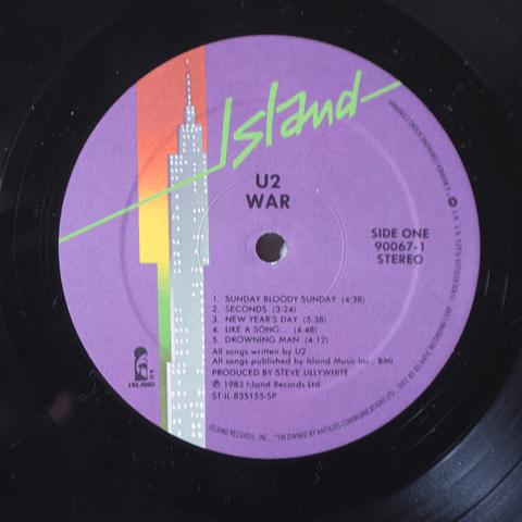 U2 – War (1a Ed USA)