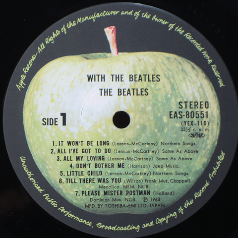 Beatles – With The Beatles Ed Japón)