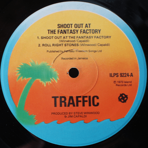 Traffic ‎– Shoot Out At The Fantasy Factory (Ed UK 70s0