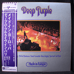Deep Purple ‎– Made In Europe (1a Ed Japón)