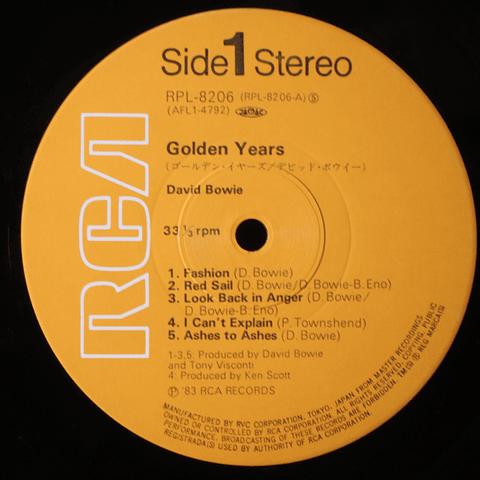 David Bowie – Golden Years (Ed Japón)
