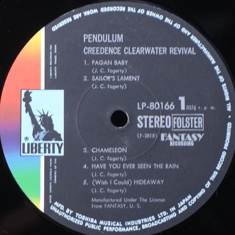 Creedence Clearwater Revival = C. C. R.* – Pendulum = ペンデュラム