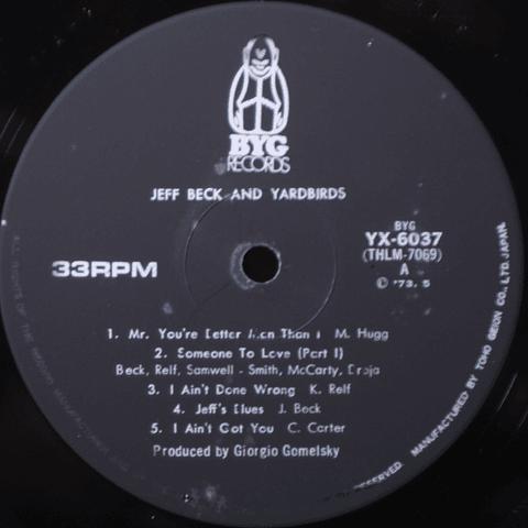 Jeff Beck And The Yardbirds – Feedback Yardbirds (Ed Japón)