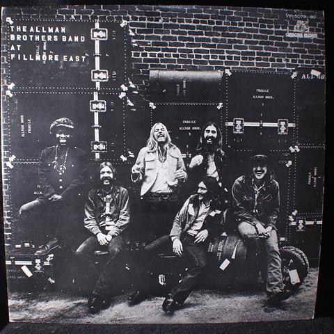 Allman Brothers Band At Fillmore East (Ed Japón)