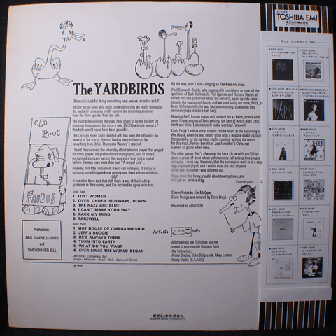 Yardbirds – '66 (Ed Japón)