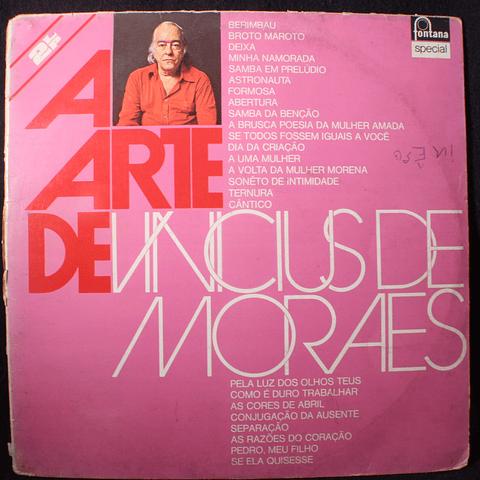 Vinicius De Moraes – A Arte De