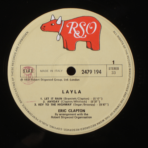 Eric Clapton – Layla (Italia '83)