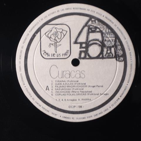 Curacas – Norte (Ed Peña de Los Parra)