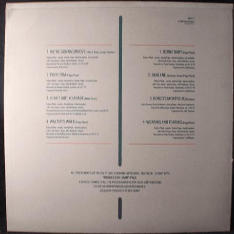 Led Zeppelin – Coda (1a Ed USA)
