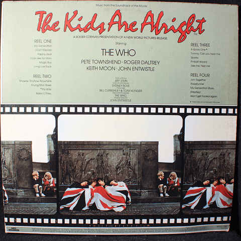 Who, The ‎– The Kids Are Alright (1a Ed USA)