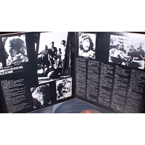 Creedence Clearwater Revival – C.C.R.-Twin Deluxe (Japón)
