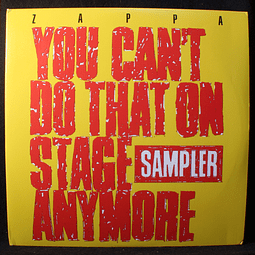 Frank Zappa – You Can't Do That On Stage Anymore (Sampler) Reed.