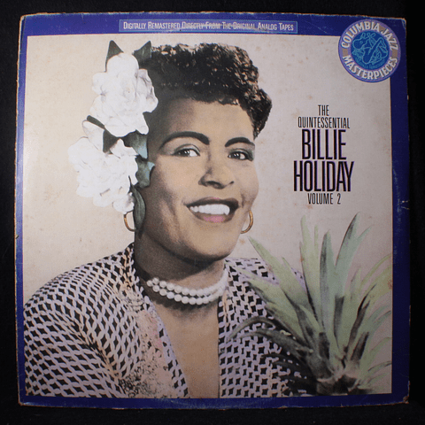 Billie Holiday – The Quintessential Billie Holiday Volume 2