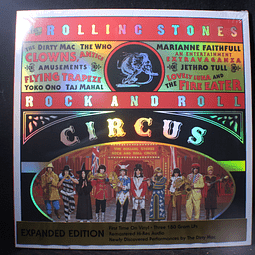 Rolling Stones Rock And Roll Circus (John Lennon, The Who, Jethro Tull - Various) BOX 3LPs Extended Version