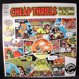 Janis Joplin Big Brother & The Holding Company – Cheap Thrills (ed USA '73)