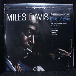 Miles Davis = マイルス・デイヴィス* – Kind Of Blue = カインド・オブ・ブルー (Reedición)