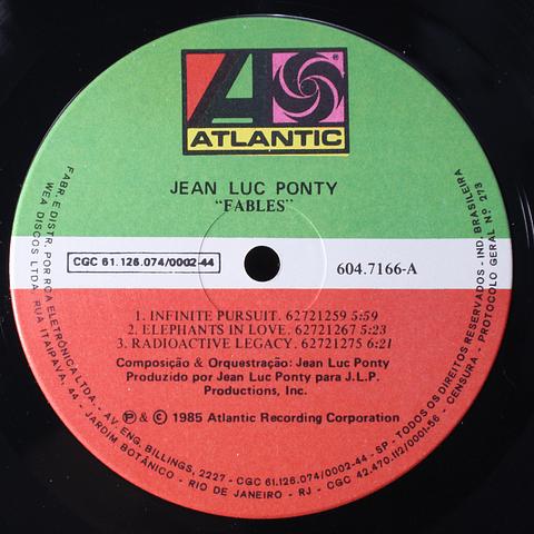 Jean-Luc Ponty – Fables