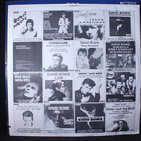 David Bowie – ChangesTwoBowie (Ed USA 80s)