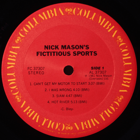 Nick Mason's Fictitious Sports (Pink Floyd)