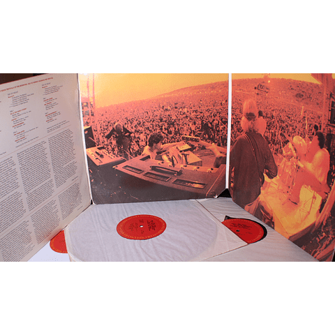 Various (Hendrix, Miles Davis, Allaman Brothers, Ten Years After, Procol Harum, otros... – The First Great Rock Festivals Of The Seventies - Isle Of Wight / Atlanta Pop Festival