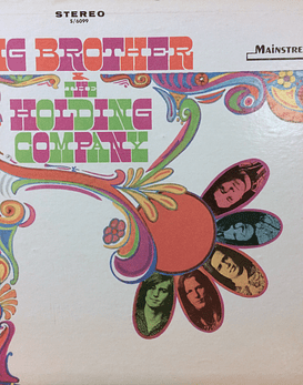 Janis Joplin Big Brother & The Holding Company ‎– Big Brother & The Holding Company