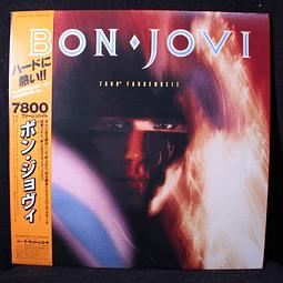 Bon Jovi = ボン・ジョヴィ* – 7800° Fahrenheit = 7800 ファーレンハイト