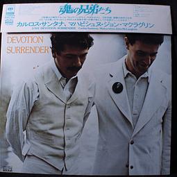 Carlos Santana, Mahavishnu John McLaughlin – Love Devotion Surrender (Ed Japón)