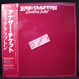 Eric Clapton – Another Ticket (1a Ed Japón)