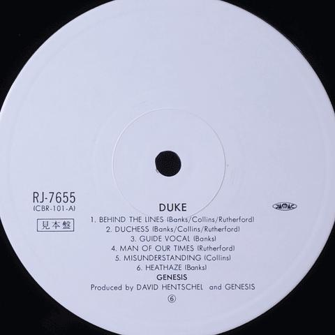 Genesis – Duke (1a Ed Japón)