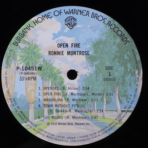 Ronnie Montrose – Open Fire (Ed Japón)