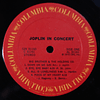 Janis Joplin – In Concert (1a Ed USA)