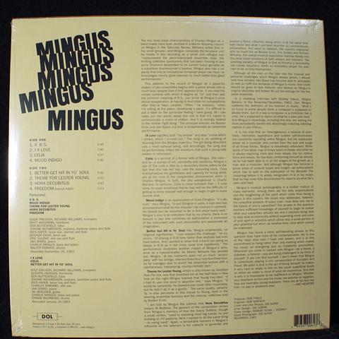 Charles Mingus – Mingus Mingus