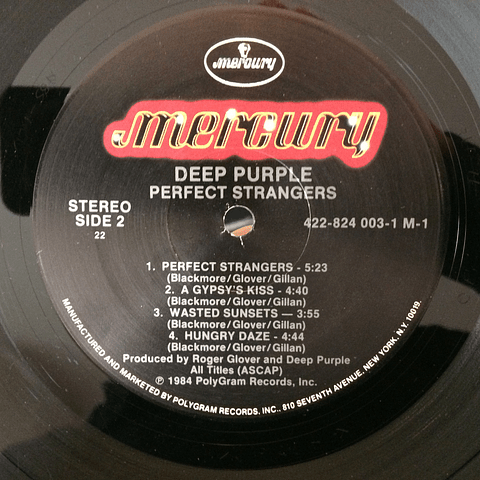 Deep Purple ‎– Perfect Strangers