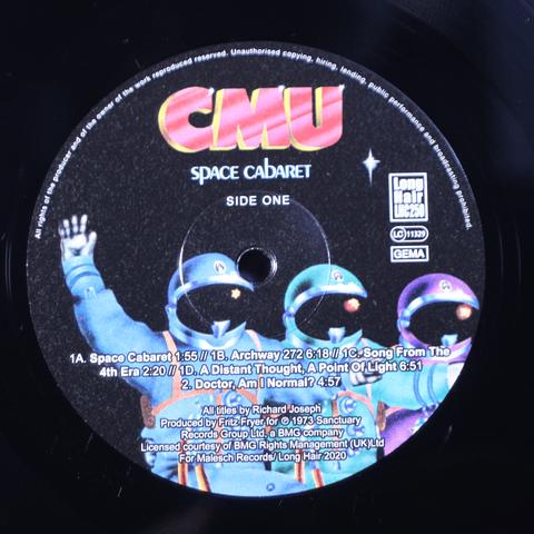 CMU – Space Cabaret (Reedición)
