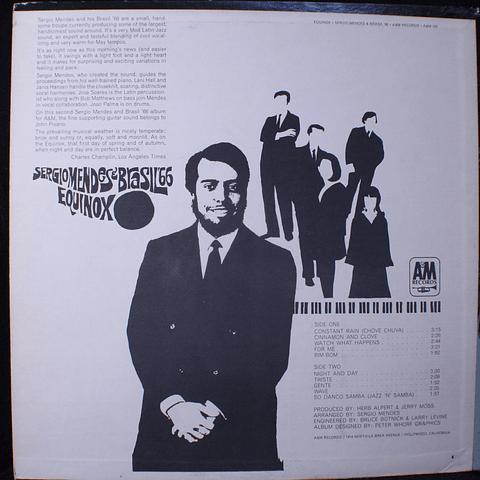 Sergio Mendes & Brasil '66 – Equinox (Ed USA '67)