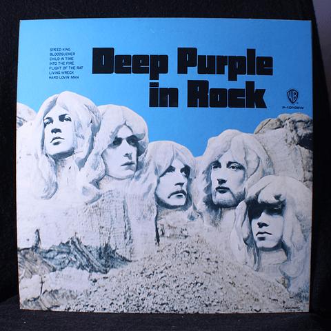 Deep Purple = ディープ・パープル* – In Rock = イン・ロック (Ed Japón)