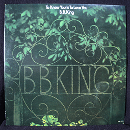 B.B. King – To Know You Is To Love You (Ed Japón)