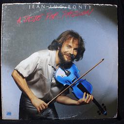 Jean-Luc Ponty – A Taste For Passion (Ed USA)