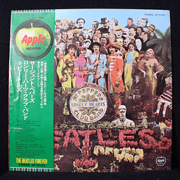 Beatles – Sgt. Pepper's Lonely Hearts Club Band (Ed Japón ´73)