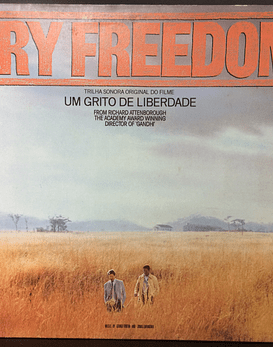 George Fenton And Jonas Gwangwa ‎– Cry Freedom (Original Motion Picture Soundtrack)
