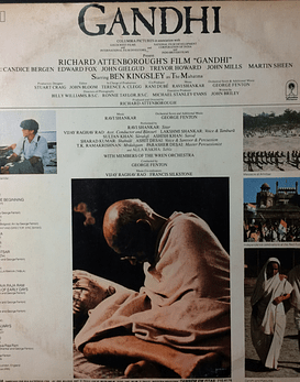 Ravi Shankar, George Fenton ‎– Gandhi - Music From The Original Motion Picture Soundtrack