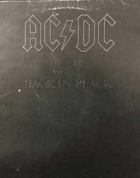 AC/DC ‎– Back In Black
