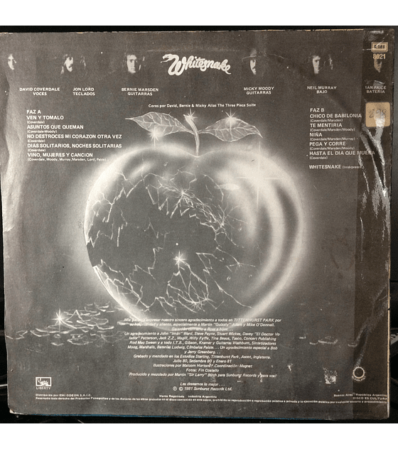 Whitesnake – Come An' Get It (Ven Y Tomato)