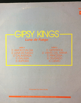 Gipsy Kings ‎– Luna De Fuego