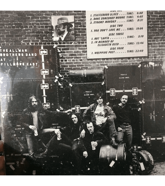 Allman Brothers Band ‎– The Allman Brothers Band At Fillmore East 1a ED USA