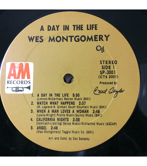 Wes Montgomery ‎– A Day In The Life